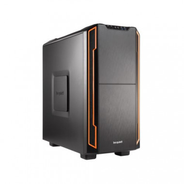 Silent Base 600 Orange - MT/Sans Alim/ATX/USB3.0 | Be Quiet!