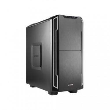 Silent Base 600 Silver - MT/Sans Alim/ATX/USB3.0 | Be Quiet!