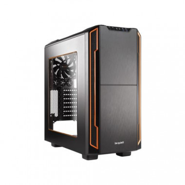 Silent Base 600 Orange Window - MT/ssAlim/ATX/USB3 | Be Quiet!