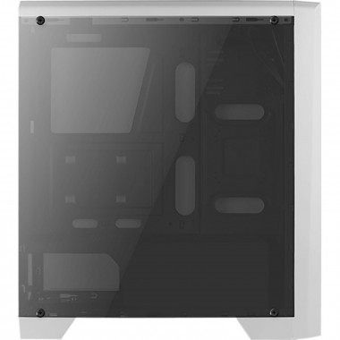 Cylon RGB White - MT/Sans Alim/ATX | Aerocool