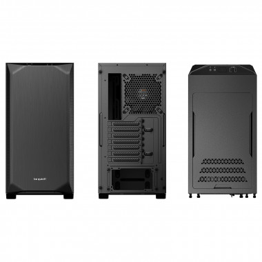 Pure Base 500 Black BG034 - MT/Sans Alim/ATX | Be Quiet!