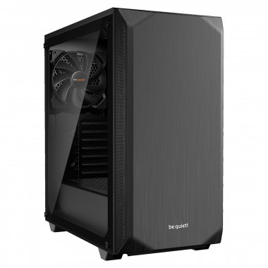 Pure Base 500 Window Black BGW34 - MT/Ss Alim/ATX | Be Quiet!