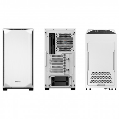 Pure Base 500 Window White BGW35 - MT/Ss Alim/ATX | Be Quiet!