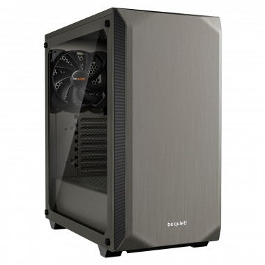 Pure Base 500 Window Gray BGW36 - MT/Ss Alim/ATX | Be Quiet!