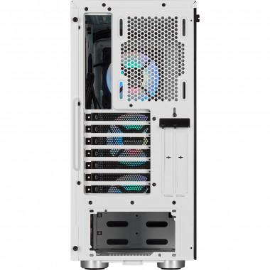 iCUE 465X RGB White - MT/Sans Alim/ATX | Corsair