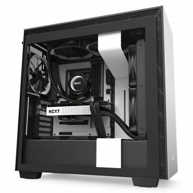 H710 Noir/Blanc - MT/Sans Alim/E-ATX   NZXT