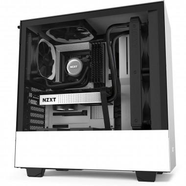 H510 Noir/Blanc - MT/Sans Alim/ATX   NZXT