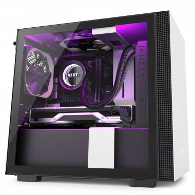 H210i Noir/Blanc - mT/Sans Alim/ITX   NZXT