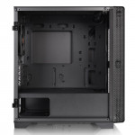 S100 TG Micro Chassis Black - mT/Ss Alim/MATX   Thermaltake