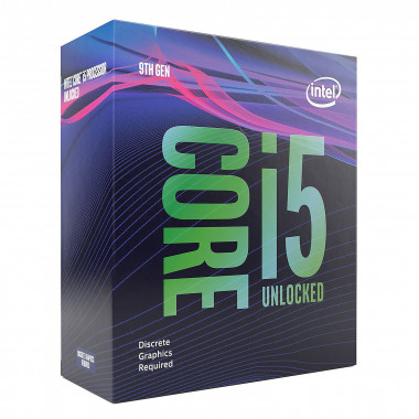 Core i5-9600KF - 3.7GHz/LGA1151(2017)/Ss Vent./BOX | Intel
