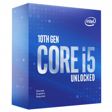 Core i5-10600KF - 4.1GHz/12Mo/LGA1200/Ss Vent./BOX | Intel