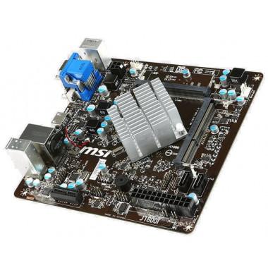 J1800I - Celeron J1800/SO-DDR3/ITX | MSI