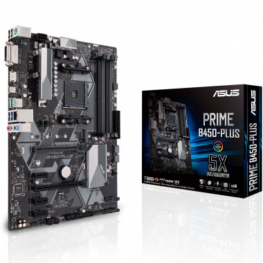 PRIME B450-PLUS - B450/AM4/ATX | Asus