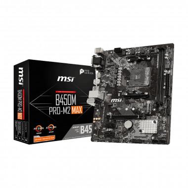 B450M PRO-M2 MAX - B450/AM4/DDR4/mATX   MSI