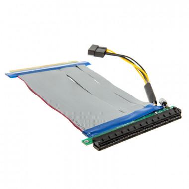 PCI-Express Riser 16x to 16x - 19cm | Kolink