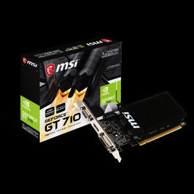 GT 710 1GD3H LP - GF710/1Go/HDMI/DVI   MSI