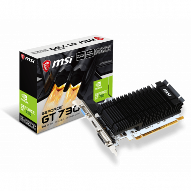 N730K-2GD3H/LP - GT730/2Go/PCI-E | MSI