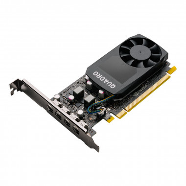 Quadro P1000 V2 - P1000/4Go/mDP/DP/DVI | PNY