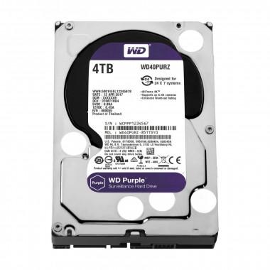 4To Purple SATA III 64Mo WD40PURZ | WD