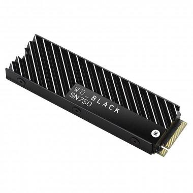 500Go BLACK NVMe M.2 + dissipateur - WDS500G3XHC | WD