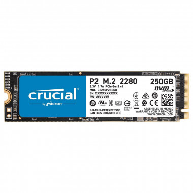 250Go M.2 NVMe - CT250P5SSD8 - P5 | Crucial