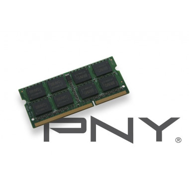 SO-DIMM 2Go DDR3 1333 1.35V SOD2GBN10600/3L-SB | PNY
