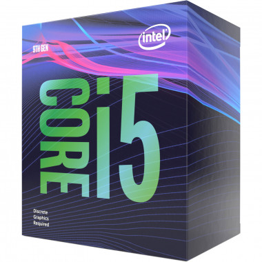 Core i5-9400F - 2.9GHz/9Mo/LGA1151(2017)/BOX | Intel