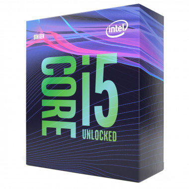 Core i5-9600K - 3.7GHz/LGA1151(2017)/Ss Vent./BOX | Intel