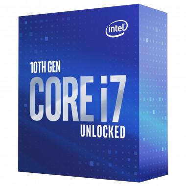 Core i7-10700K - 3.8GHz/16Mo/LGA1200/Ss Vent./BOX | Intel