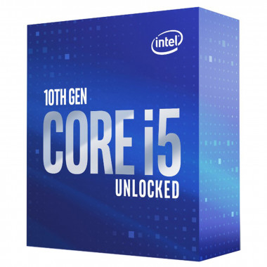 Core i5-10600K - 4.1GHz/12Mo/LGA1200/Ss Vent./BOX | Intel