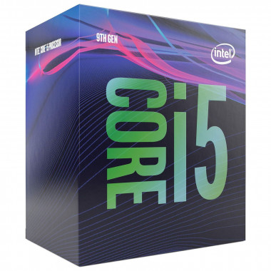Core i5-9400 - 2.9GHz/9Mo/LGA1151(2017)/BOX | Intel