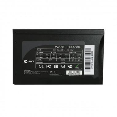 ATX 500W - (Ventilateur 12cm) - DU-A50B Black # | DUST