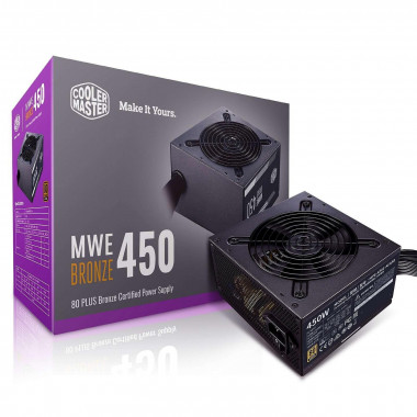 ATX 450W - MWE Bronze V2 MPE-4501-ACABW-BEU | Cooler Master