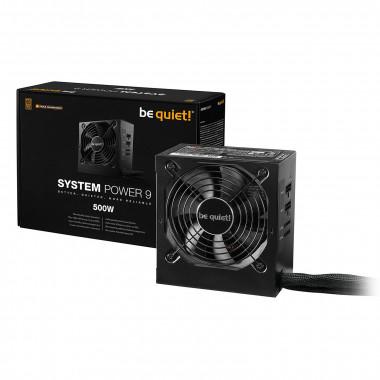 ATX 400W - System Power 9 CM - BN300  | Be Quiet!