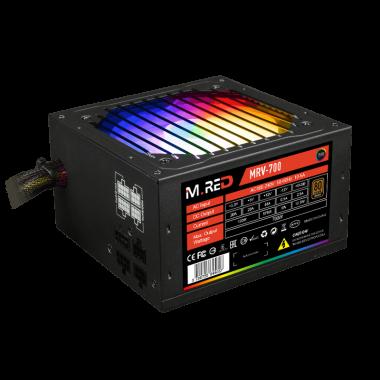 ATX 700W - Semi-mod. 80+Brz - VP700-M-RGB | M.RED