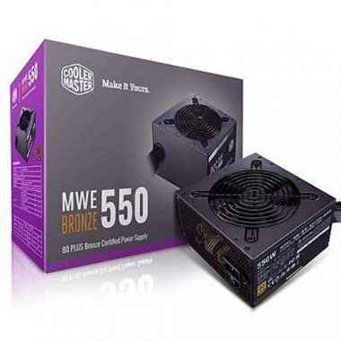ATX 550W - MWE Bronze V2 MPE-5501-ACABW-BEU | Cooler Master