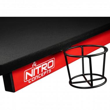 D12 Gaming Desk Noir/Rouge | Nitro Concepts