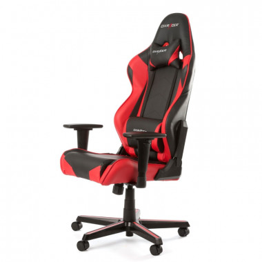 Racing R0-NR - Noir/Rouge/Simili Cuir/3D | DXRacer
