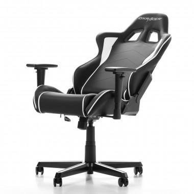 Formula F08-NW - Noir/Blanc/Simili Cuir/3D | DXRacer