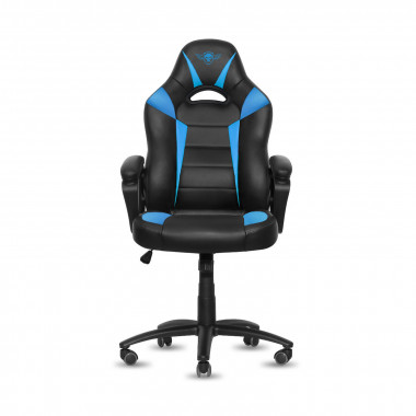 Fighter Blue - Noir/Bleu/Simili Cuir | Spirit Of Gamer