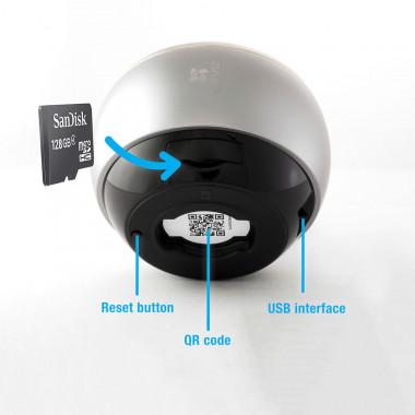 Mini Pano - Fisheye 3MP WiFi Dual Band | Ezviz