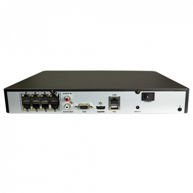 HiWatch 4108MH-8P - Network Video Recorder 8 Can. | HIK Vision