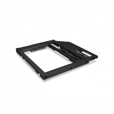 "Adapt. DD/SSD 2.5"" empl.graveur 9.5mm - IB-AC649 | Icy Box"