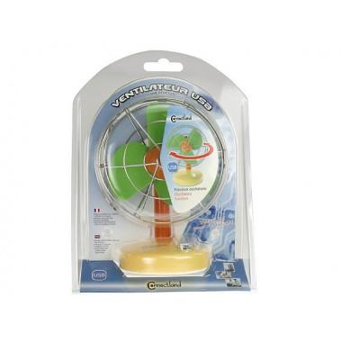 Ventilateur USB D-VENT-3-COLORS | Connectland