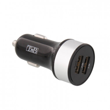 Chargeur allume-cigare 2xUSB 4.8A max | T'nB