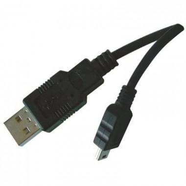 Câble Mini USB B - USB A - 1,50 m | Générique