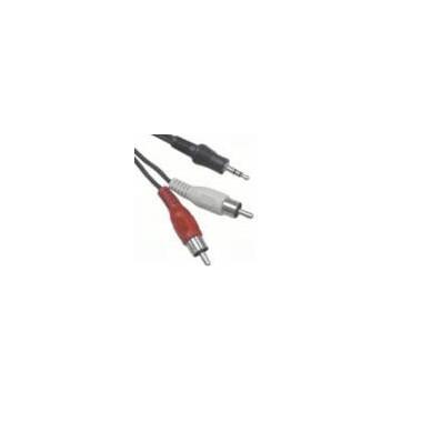 Câble Audio Jack 3.5 / 2 RCA 10m | Générique