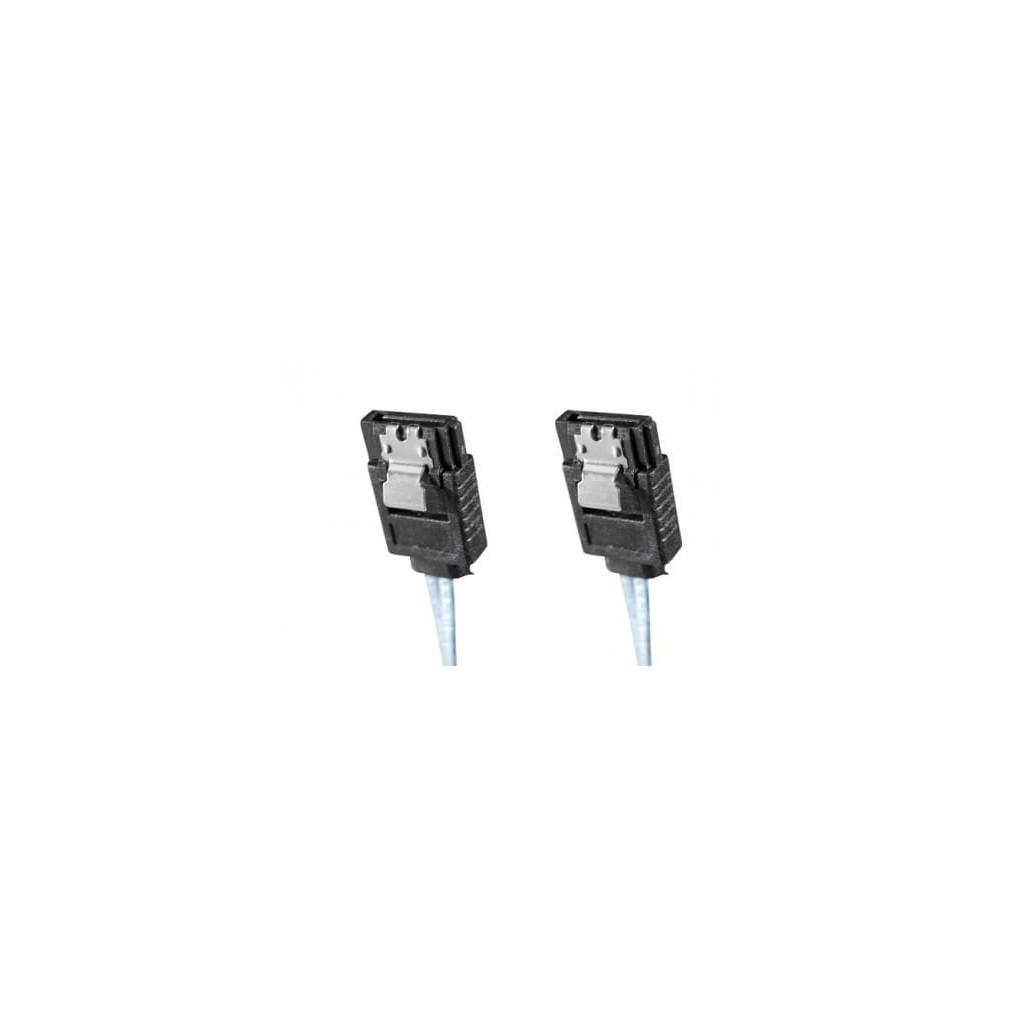 SATA III avec clips de verouillage - 50cm | Générique