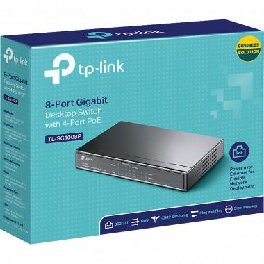 8 Ports 10/100/1000Mbps TL-SG1008P (4 POE)   TP-Link