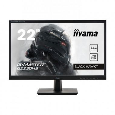 "G2230HS-B1 - 21.5""/0.8ms/FHD/VGA/HDMI/DP/HP/FS | Iiyama"